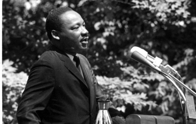 'The words that changed the world': Martin Luther King Jr.