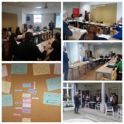 In Brussels with PMC students: Europroject Management and European Commission