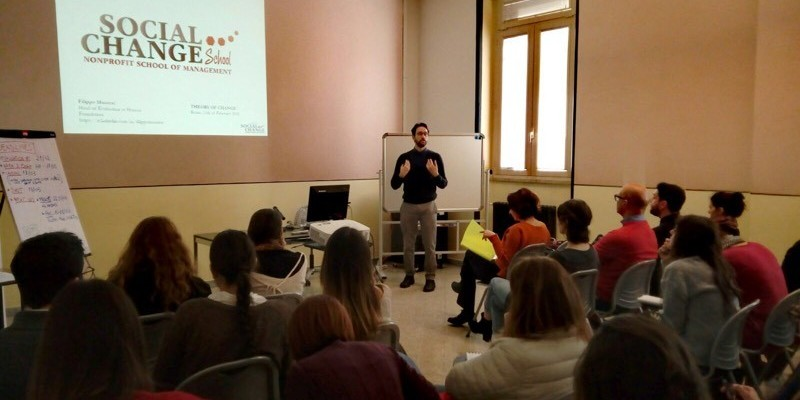 Master PMC e FRAME a Roma: Management and Non-Profit Business Administration.