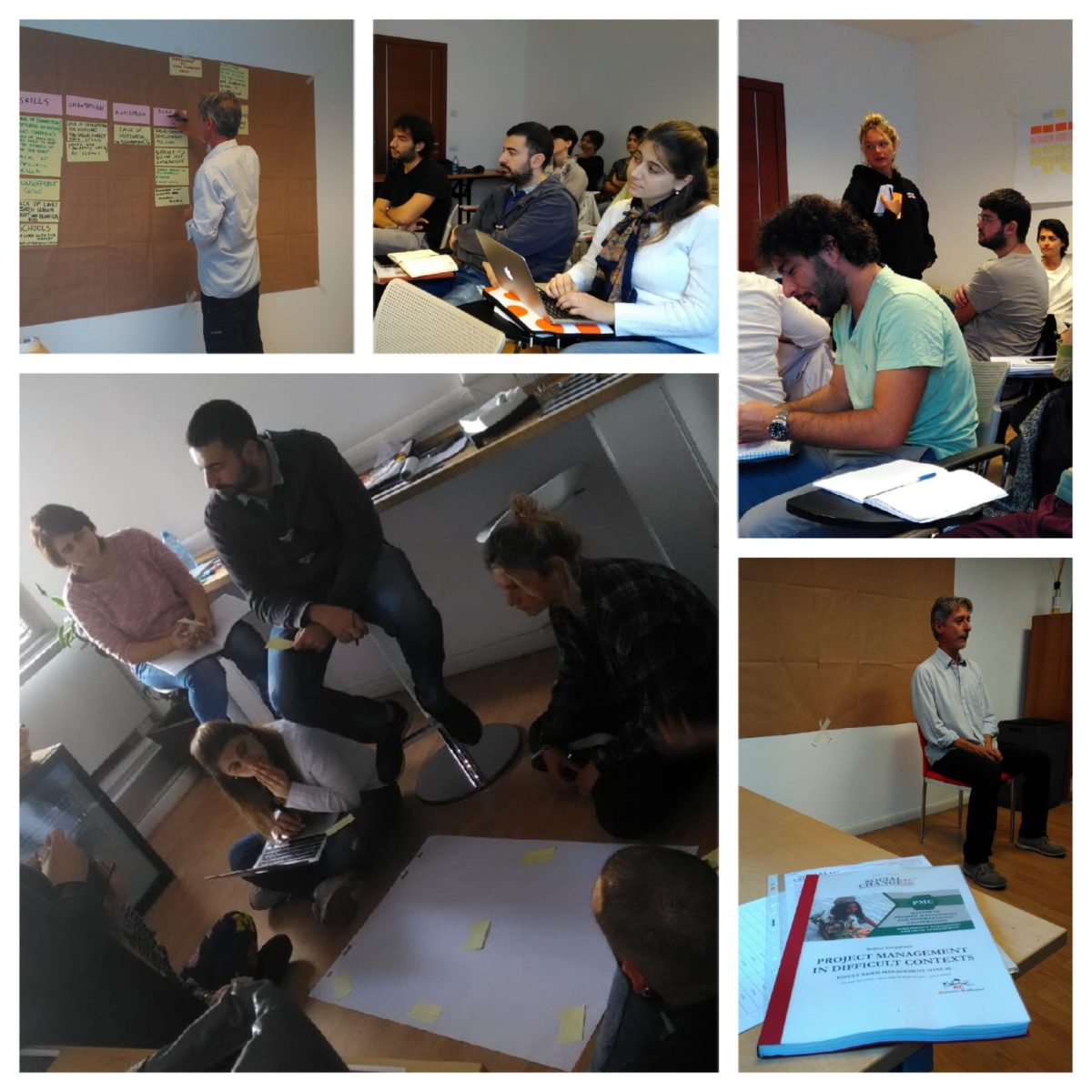I fellow del Master PMC a Roma per il Workshop Advanced Project Management Techniques