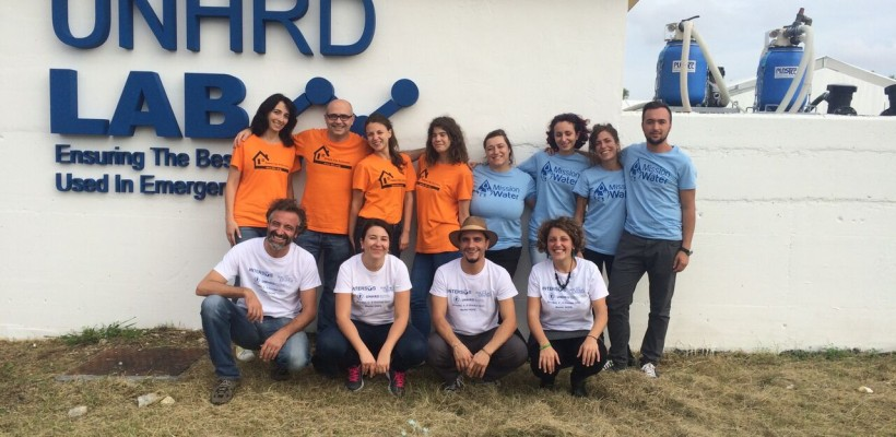 Taking the field with Master HOPE: the first Field Simulation at the UNHRD base in Brindisi