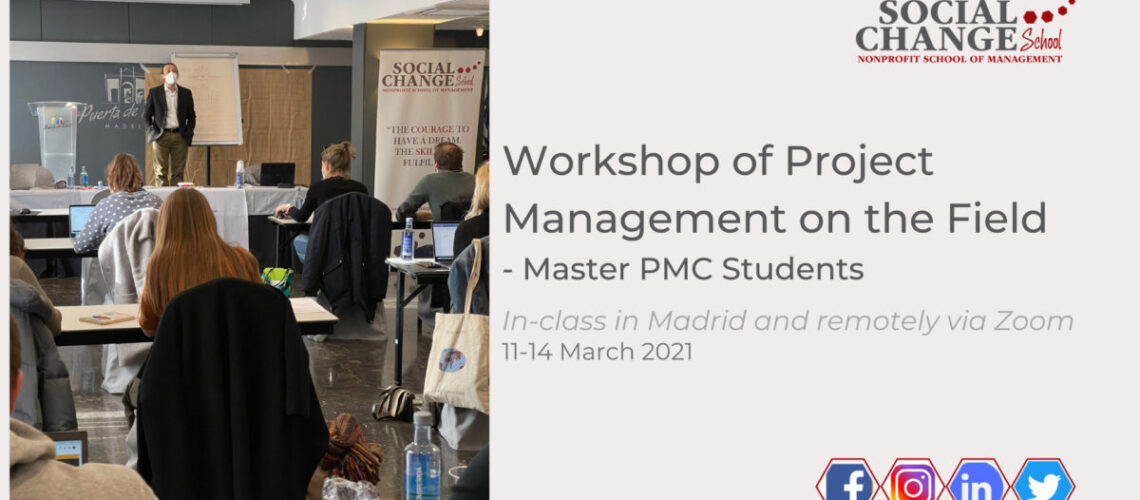 Master PMC: Project Management on the Field – the workshop